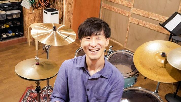 ドラム講師桜谷隆太